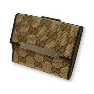 Gucci(グッチ) Wホック 2つ折り財布 112716-F40IR-9643 2009新作