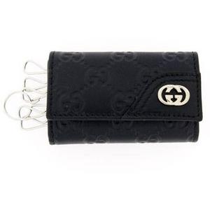 Gucci(グッチ) 6連キーケース ブラック 181680-A0V1N-1000 2009新作