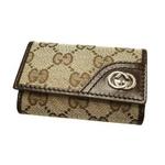 Gucci(グッチ) 6連キーケース ベージュ×ダークブラウン 181680 FAFXN 9569 2009新作