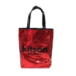 KITSON(キットソン) スパンコール トートバッグ レッド SEQUIN-TOTE2 3294 2009新作