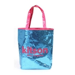 KITSON(キットソン) スパンコール トートバッグ アクア SEQUIN-TOTE2 3296 2009新作