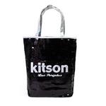 KITSON(キットソン) スパンコール トートバッグ ブラック SEQUIN-TOTE2 3318 2009新作