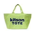KITSON(キットソン) ショッピングトートバッグ 3367 キャンバス ライムグリーン 2009新作