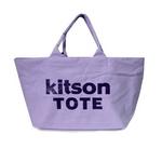 KITSON(キットソン) ショッピングトートバッグ 3368 キャンバス ライトパープル 2009新作