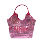 KITSON(キットソン) スパンコール トートバッグ SEQUIN TOTE 3156 アクア ピンク 2009新作