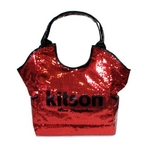 KITSON(キットソン) スパンコール トートバッグ SEQUIN TOTE 3292 レッド 2009新作