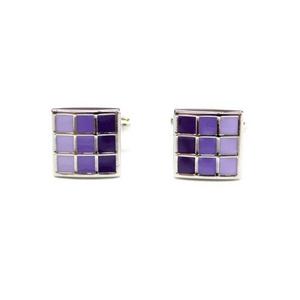 Cuffs(カフスボタン) カフリンクス パープルエナメル Purple Enamel Cufflinks 2009新作