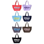 KITSON(キットソン) トートバッグ MINI CANVAS TOTE ミニキャンバス 2009新作 ダークグレー(3543)