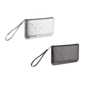 MARC BY MARC JACOBS(マークバイマークジェイコブス) MARC BY MARCJACOBS ミラーハート ポーチMirror Heart Clutch95773 95774 2009新作 ガンメタル(95774)