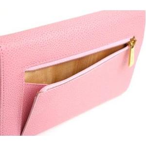 CHANEL(シャネル) A13225 三つ折り 財布 ピンク