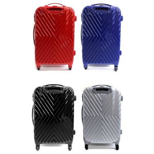 Ambassador(アンバサダー) TSAロック方式採用 ポリカーボネイト製キャリーバッグ 20インチ スーツケース グレー