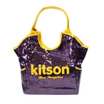KITSON(キットソン) スパンコール トートバッグ 3157 SEQUIN TOTE パープル