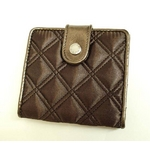MARC BY MARC JACOBS(マークバイマークジェイコブス) 2つ折り財布 サテンスナップ 50365 ブラウン S08QUILTED
