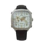MODEX(モデックス) 5continents G-5GLD-002-BK Full diamond スイス製 ダイヤモンド メンズ腕時計