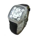 MODEX(モデックス) 5continents G-5BLK-001-BK Full diamond スイス製 ダイヤモンド メンズ腕時計