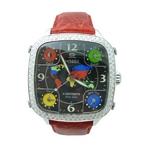 MODEX(モデックス) 5continents G-5COL-002-RD Top ring スイス製 ダイヤモンド メンズ腕時計