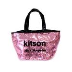 KITSON(キットソン) sequin mini ミニスパンコール トートバッグ パープル(3560)