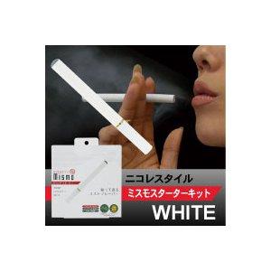 ニコレスタイル 電子タバコ mismo(ミスモ) スターターキット ホワイト
