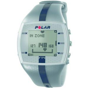 POLAR(ポラール) 腕時計型 心拍計(ハートレートモニター) FT4M シルバー/ブラック