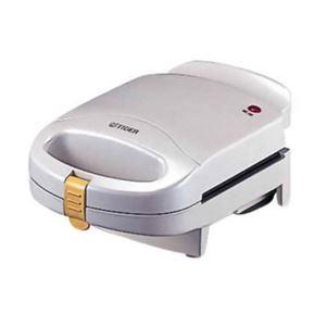 タイガー サンドイッチトースター(やきたて) KTU-A400/WP