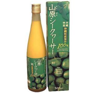 沖縄県産果汁100% 山原シークヮーサー 500ml