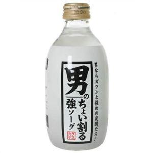 【ケース販売】男のちょい割る強ソーダ 300ml×24本