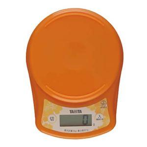 タニタ デジタルクッキングスケール KD-812-OR オレンジ