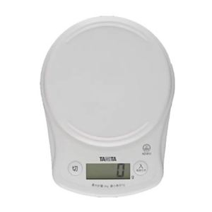 タニタ デジタルクッキングスケール KD-812-WH ホワイト