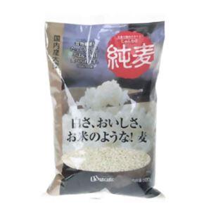 はくばく 純麦(国内産大麦) 600g 【7セット】