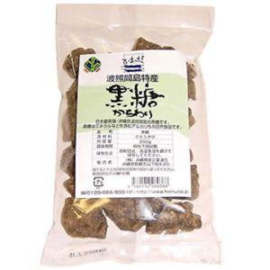 沖縄波照間島特産 黒糖かちわり 200g【6セット】