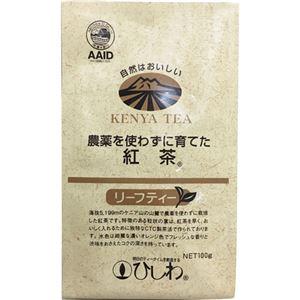 ひしわ 農薬を使わずに育てた紅茶 100g【5セット】