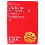 日食プレミアムコーンフレーク ストロベリー 215g 【7セット】
