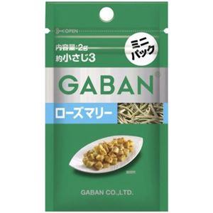 ギャバン ローズマリー ミニパック  2g 【17セット】