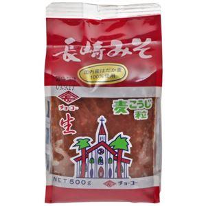 チョーコー 長崎麦みそ(袋) 500g 【6セット】