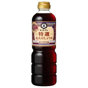 キッコーマン 特選丸大豆しょうゆ 750ml 【11セット】