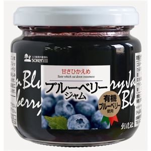 創健社 ブルーベリージャム 200g【5セット】
