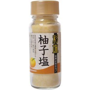 彩塩 柚子 74g 【8セット】
