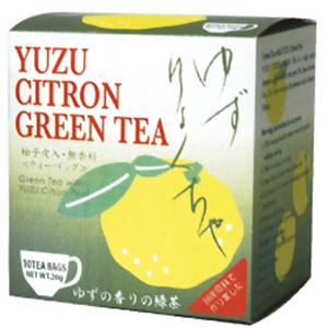 ゆず緑茶 2g×10袋【4セット】