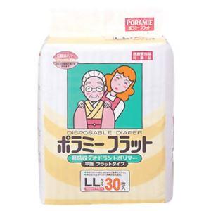 カワモト ポラミーフラット紙オムツ ポリマー30枚 コンパクト 【2セット】