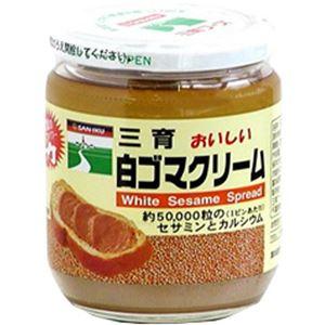 三育 おいしい白ゴマクリーム 210g 【4セット】
