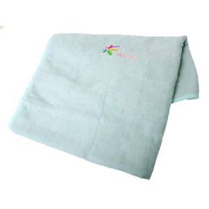 花ひらく 枕カバー ブルー 【3セット】