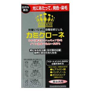 加美乃素 カミクローネ 自然な黒色 80ml 【5セット】