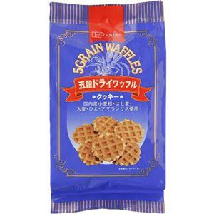 創健社 五穀ドライワッフル 8枚 112g【9セット】