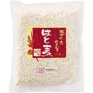 創健社 栃木県産はと麦 ひき割粒 220g 【4セット】