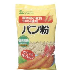 創健社 国内産小麦粉100%使用 パン粉 150g 【12セット】