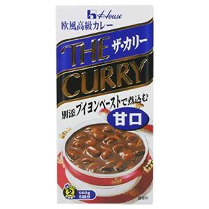 ザ・カリー(甘口) ブイヨンペーストで煮込む 140g 【18セット】