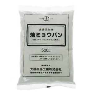 焼きミョウバン 500g 【3セット】
