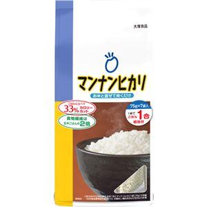 マンナンヒカリ 75g×7本【4セット】