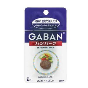 ギャバン シーズニングスパイス ハンバーグ 2人分×4袋【20セット】