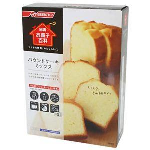 お菓子百科 パウンドケーキミックス 500g (250g*2袋) 【5セット】